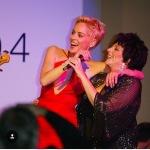 Con LIza Minnelli.(Foto Instagram)