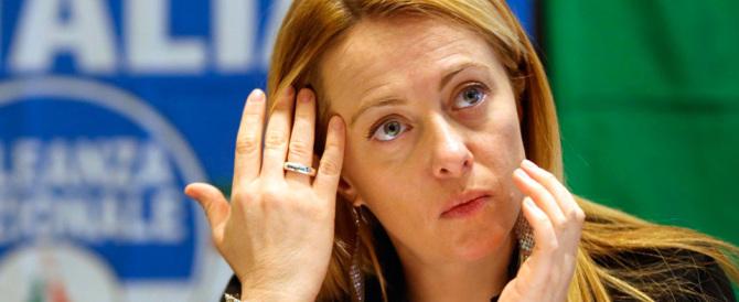 Meloni: «M5S costretto a ripensarci per la battaglia FdI contro nominati»