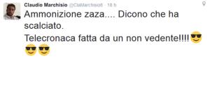 Inter-Juve: Marchisio accusa di cecità il telecronista Rai e scoppia il finimondo
