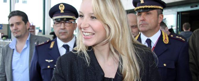 """Marion Le Pen a Roma per lanciare """"l'Europa delle Mille Patrie"""""""