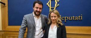 Salvini e Meloni pronti alla piazza: «No al quarto governo scelto dal Colle»