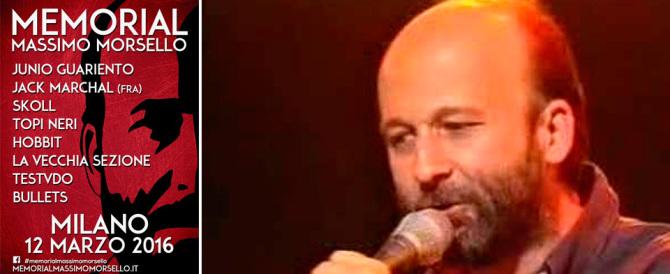 Milano, in nome di Massimo Morsello la festa della musica alternativa (video)