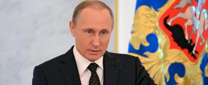 """Lo sfogo di Putin: """"Ma che minaccia militare. Non attaccheremo nessuno"""""""