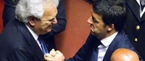 """Renzi senza ritegno: """"I voti di Denis Verdini ci servono"""""""