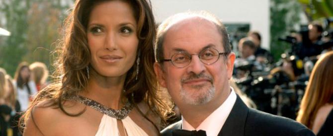 Rushdie? «Insensibile e ossessionato dal sesso»: parola di ex moglie