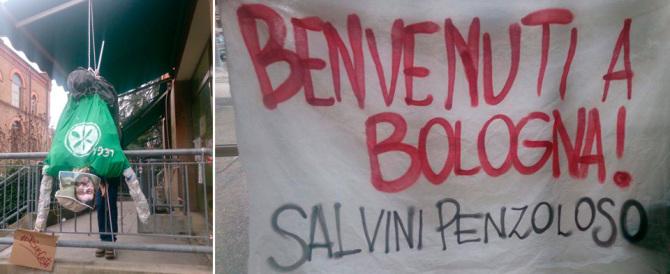 Bologna, compagni scatenati: per Salvini vogliono un altro piazzale Loreto