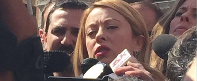 *** Flash – Meloni: «Mi candido a sindaco di Roma, è un atto d'amore»