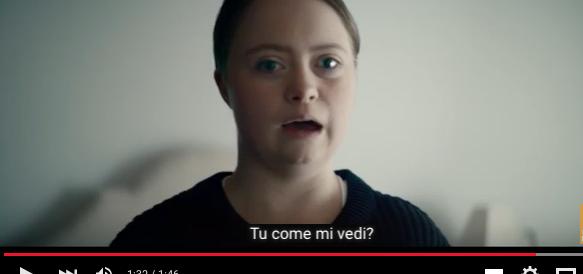 """""""Tu come mi vedi?"""": amore, sogni e rabbia nel video sulla sindrome di Down"""