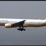 L'aereo atterrato a Gedda. (Foto Instagram)