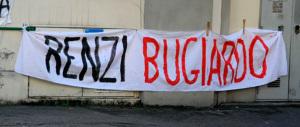 «I nostri bambini continuano ad ammalarsi, Renzi racconta solo balle»