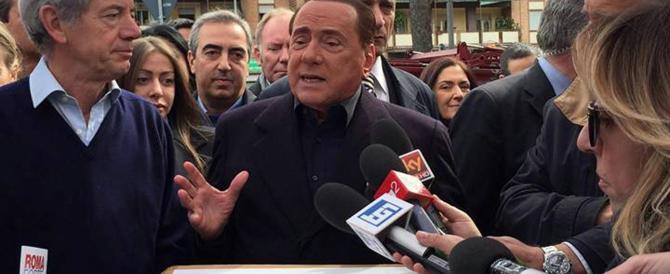 """Berlusconi insiste: """"Su Bertolaso nessuna esitazione"""""""
