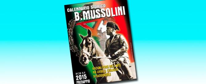 Al comando dei vigili spunta il calendario di Mussolini. E scoppia la bufera