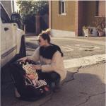 Laura è una madre molto premurosa.  (Foto Instagram)