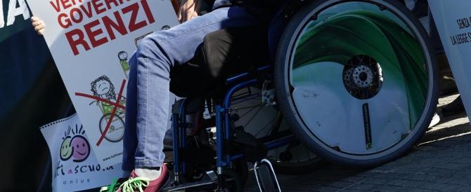 Renzi prende un altro schiaffo. Il Consiglio di Stato: niente tasse sui disabili