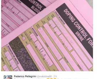 La gaffe di Federica Pellegrini: ha pubblicato il suo numero di cellulare (FOTO)