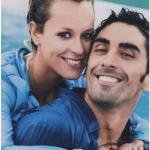 Federica con il fidanzato-collega, che poi è uno dei migliori nuotatori italiani di sempre. (Foto Instagram)