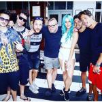 Ecco la comitiva a Miami. (foto Instagram)