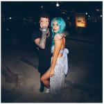 Sia lui che lei hanno documentato la serata trascorsa insieme. (foto Instagram)