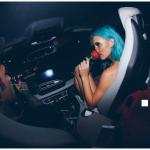 Il rapper è volato a Miami per conoscerla. E le ha regalato questa rosa rossa. (foto Instagram)