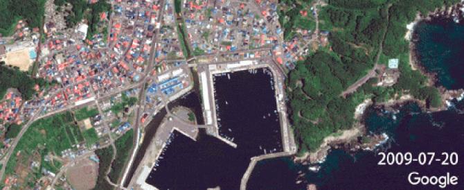 Fukushima prima e dopo: Google Maps mostra com'è cambiata in 5 anni  (video)