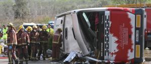 """Incidente in Spagna con 13 vittime: """"7 ragazze italiane morte"""", dice la Farnesina"""