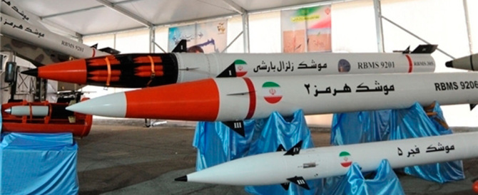 L'Iran testa missili a lunga gittata: potrebbero arrivare a colpire Israele
