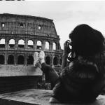 Kendall Nicole Jenner, è una delle modelle al mondo che può contare più seguaci sui social network. Ha postato una foto col Colosseo sotto ai piedi. (Foto Instagram)