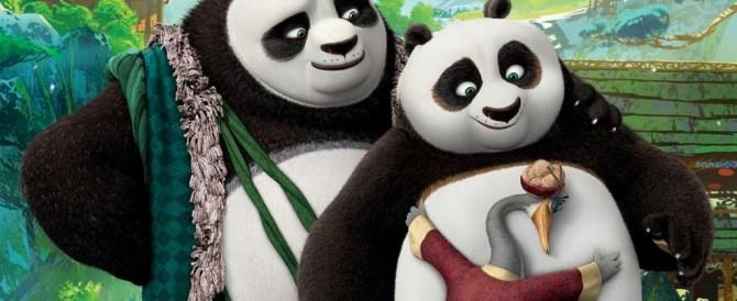"""Al cinema Kung Fu Panda in versione """"Vendola"""": due papà, nessuna mamma"""