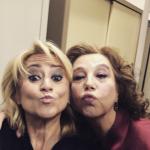 Un selfie recentissimo con Stefania Sandrelli, ospite alla trasmissione di Fabio Fazio.  (Foto Instagram)