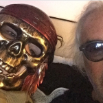 """Briatore scherza sul suo """"nuovo"""" volto: ecco un selfie appena pubblicato.  (Foto Instagram)"""