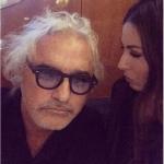 Questa è la foto che ha scatenato molta curiosità: Flavio Briatore, qui con la moglie Elisabetta Gregoraci, appare col volto molto più tirato del solito.  (Foto Instagram)