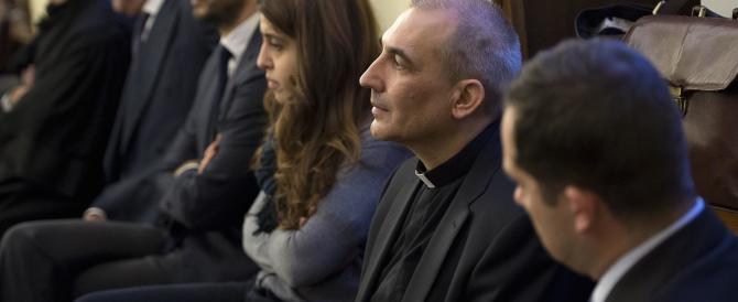 Bufera sul Vaticano: monsignor Balda è di nuovo in cella per Vatileaks