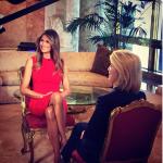 Ricercatissima dalle trasmissioni tv, la moglie di Donald Trump concede poche interviste. (Foto Instagram)