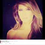 Melania in un selfie pubblicato sul suo profilo. (Foto Twitter)