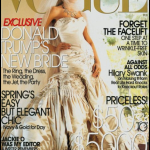 Sulla copertina di Vogue Spose. (Foto Instagram)