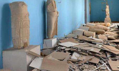"""""""Palmira liberata"""", esperti russi al lavoro per lo sminamento del sito"""