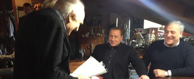 """Dopo Renzi anche Berlusconi va a salutare Pannella malato: """"Un grande"""""""