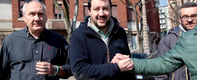 Salvini: «Bertolaso non ha interesse per noi? Noi non abbiamo interesse per lui»