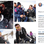 """""""Atterraggio dolce"""". Salvini scherza coi suoi follower. (Foto Instagram)"""