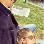 Elena Santarelli è sposata con l'ex calciatore, oggi commentatore, Berbardo Corradi. (Foto Instagram)