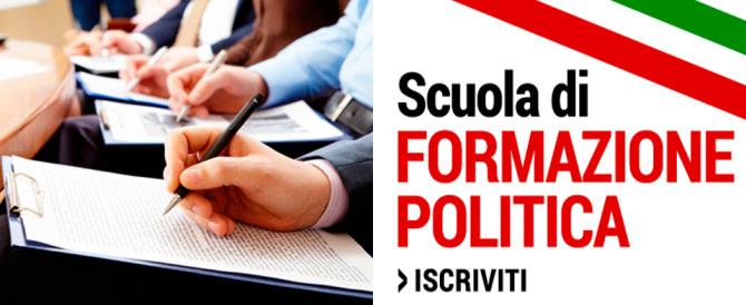 """Fondazione An: """"Un successo i corsi di formazione politica per i giovani"""""""