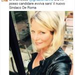 Flavia Vento è stata candidata alla Regione Lazio con la Margherita, ancora pochi mesi fa diceva di volersi candidare sindaco di Roma.  (Foto Instagram)