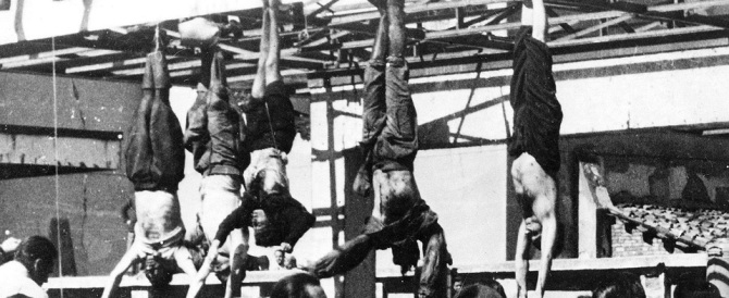 Il 28 aprile e lo scempio di Piazzale Loreto che ha macchiato la storia d'Italia