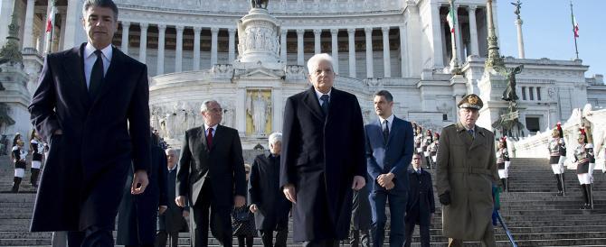 Mattarella celebra  il 25 Aprile ma pensa al referendum di ottobre