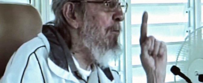 Fidel Castro torna in pubblico dopo 9 mesi e attacca Obama (VIDEO)
