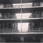 Casa Rustici, Giuseppe Terragni, Milano. (Foto Instagram)
