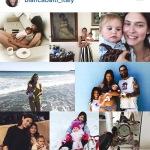 Un collage di foto della supermodella con la figlia pubblicto su Instagram.
