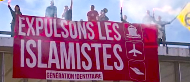 Génération identitaire tiene il corteo anti-Islam. E un belga su due è d'accordo