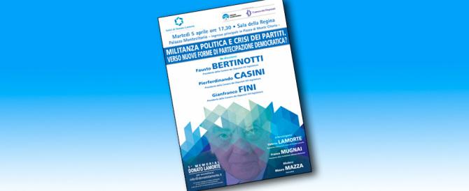 Martedì 5 il Memorial Donato Lamorte promosso dalla Fondazione An