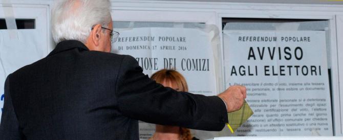 Il voto quasi nascosto del presidente Mattarella. A Palermo, e solo a tarda sera